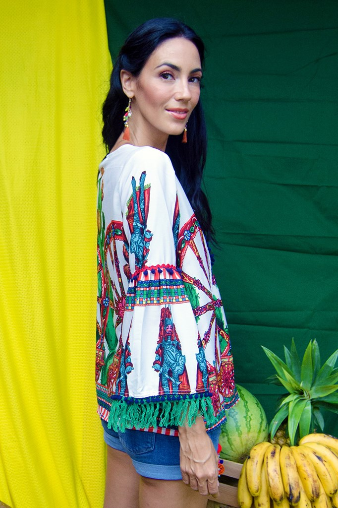 Brunella Long Sleeved Resort Wear Top Philippines